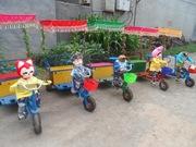 Детский развлекательный Робот Рикша